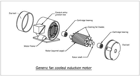 Components of a Induction Motor