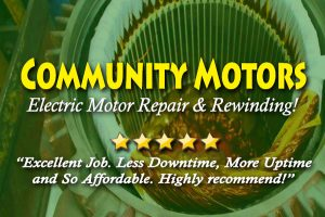 Houston Electric Motor Repair Service